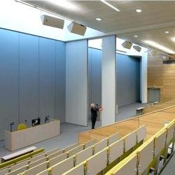 Pannello divisorio pieghevole a parete acustica nuovo profilo in alluminio per ufficio