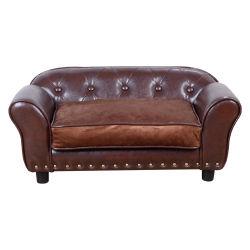 L'exportation d'usine OEM Canapé-lit pour chien en peluche de luxe coussin pet