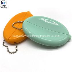 핫 셀 소프트 PVC 고무 코인 도매 비즈 키 체인 교체 홀더 사용자 지정 실리콘 고무 코인 수집 케이스