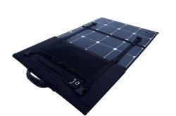 Opvouwbare zonneceloplader voor zonnepanelen van 21 W/100 W/130 W/200 W Sunpower Logo van de Cell Solar Charger Bag en Power Customized