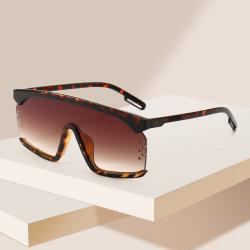 2021 새로운 플라스틱 선글라스 멋진 이름 브랜드 스톡 선글라스 아름다움