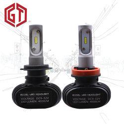 Alle ein 50W S1 H7 Scheinwerfer-Installationssätzen des Auto-LED des Scheinwerfer-4000lm in den Selbstder birnen-LED für 6500K LED Scheinwerfer-vorderes Licht