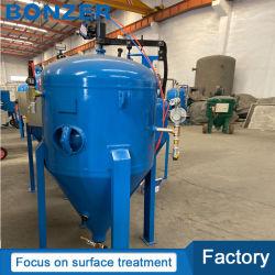 Bz-900 25CF/700L automatische mobile bewegliche nasse Sand-Bläser-Maschine