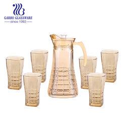 Dekoratives Trinkglas 7PCS Dinner-Set auf Promotion (GB12039LS-DDA)