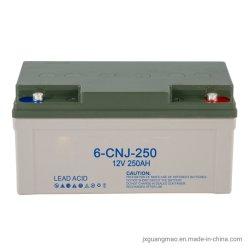 GM01020215 Directividade de fábrica de Baixo Carbono Chumbo livre de manutenção Self-Discharge 12V 250 Ah AGM com segurança da bateria