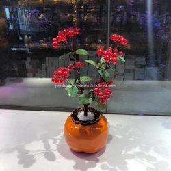 Red Fadeless flor para Amigas Donghai Crystal