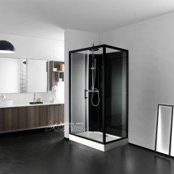 シャワーキャビン / シャワーエンクロージャ / バスルーム用ガラススライドドア : 長方形シャワーキャビン A-2715B