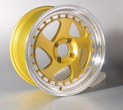 15дюйма желтый легкосплавных колесных тюнером