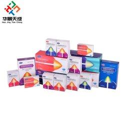 La impresión de embalaje plegable hecho personalizado Satinado medicina Vial Box