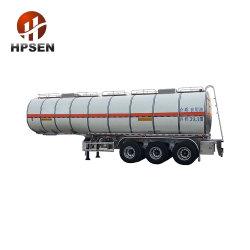 2019 3 المحور 42000L 5454 Aluminium طارد زيت النخيل مقطورة مقطورة نصف المقطورة للشاحنات