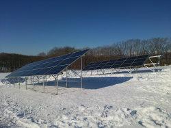 Maalde de Zonne Opgeheven het Opzetten Dwars Aanstampende Pijp van het Systeem voor het Gebied van de Sneeuw