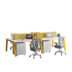 現代オフィス用家具ワークステーション軸受けまたはキャビネットが付いている管理のコンピュータの机