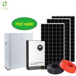 태양열 에너지 시스템용 5kW 태양열 전원 패널 시스템 홈