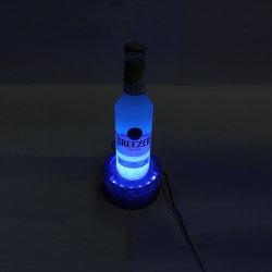 يضاء [لد] شراب زجاجة [غلوريفير] عرض [وين بوتّل هولدر] أكريليكيّ