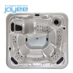 Joyee 6人の自由で永続的なハイドロ性米国の渦のマッサージの浴室の浴槽の浴室のジャクージ機能は屋外の鉱泉の温水浴槽に値を付ける