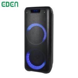 نظام PA متعدد الوظائف، مع توجيه تقييد استخدام مواد خطرة معينة (RoHS) بتقنية Bluetooth، مع تقنية LED Light سماعة لاسلكية قابلة لإعادة الشحن لصوت الحفلة ED-605