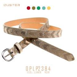 ファッション小物を見る革とのClassic Belts Metallic PU Belts方法ベルトの女性女性ベルトの打つ様式