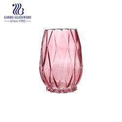 Элегантный стеклянный цветок ваза красочный декор стола стекло вазы (ГБ1597DL-P)