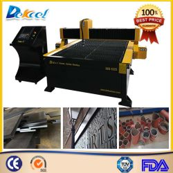Máquina de Corte Plasma CNC para o aço, ferro, alumínio