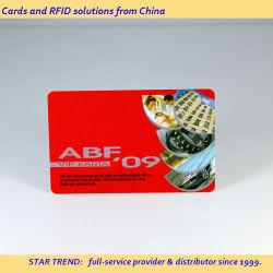 بطاقة PVC للطباعة باللون اللؤلؤي مع شريط مغناطيسي لصالون الشعر