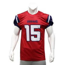 Lo sport su ordinazione in bianco degli uomini della Jersey di football americano di stampa di sublimazione di Healong copre le camice di rugby