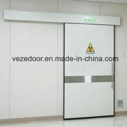 Витражными экранирования рентгеновского автоматическая герметичные двери
