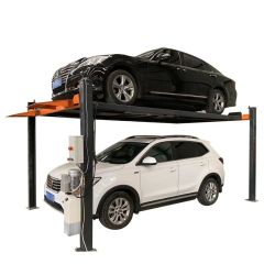 자동 주차, 4 포스트, 4 열 2 수준 자동차 스택커 주차