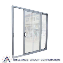 Puerta de cristal de la oficina comercial de China/puerta corredera paneles de vidrio
