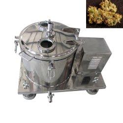 L'huile de chanvre Cannabissativa/filtre plat d'extraction de l'éthanol Séparateur centrifuge