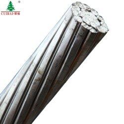 ASTM ACSR는 알루미늄 합금 직류 전기를 통한 강철에 의하여 강화된 지휘자 쌍신회로 또는 세겹 꼬이는 서비스 하락 Greeley 머리 위 철사 ABC 전원 분배 케이블을 드러낸다