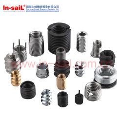 Inserta el cable helicoidal de acero inoxidable inserta