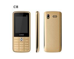 Recurso 2.4Inch mais barato telefone móvel celular Bar Phone C8