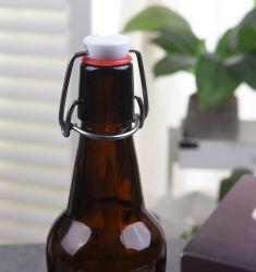 bottiglie di vetro della birra 330ml con la Oscillare-Parte superiore/vibrazione chiuse ermeticamente sulla protezione