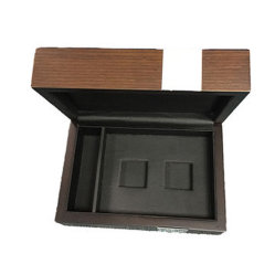De houten Doos van de Gift met Scharnierend Deksel voor Juwelen/Horloge/Thee