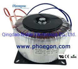 単一フェーズの鉛が付いている円環形状の電力の変圧器の高性能の高周波リングの変圧器の電源変圧器