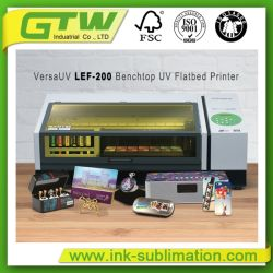 De UV Flatbed Printer van Roland Lef-200 Desktop (leid om bezwaar te hebben)