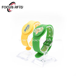 Silício durável pulseira RFID para piscina/Controle de Acesso