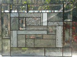 Foscas/vidro temperado de pintura padrão para porta/janela decorações Arte