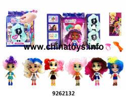 Las niñas de belleza favorito muñecos con los coches deportivos y los aviones el juego conjunto de la casa juguetes de plástico (9262164)
