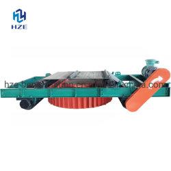 Vagabundo extracción a través de la correa de auto-limpieza suspendido separador magnético
