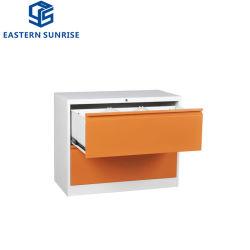 Hot Sale deux armoires de dépôt d'acier latérales de tiroir