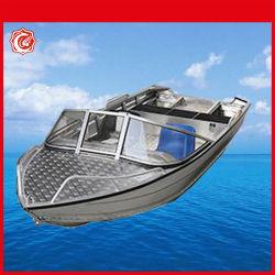 سعر جيّدة ألومنيوم صيد سمك سرعة انبثاق زورق مع محرك محرك لأنّ عمليّة بيع