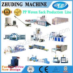 La fabrication de la ligne de production de sacs tissés en PP