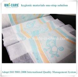 Gedeeltelijke Gelamineerde In te ademen PE Backsheet doek-als Niet-geweven voor de Luier van de Baby