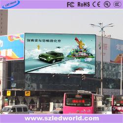 16мм HD для использования вне помещений Закрепленные рекламные полноцветный светодиодный экран