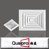 Quadratischer Zubehörluftaluminiumdiffuser (zerstäuber) AR6120
