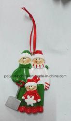 Haute qualité de la famille Polyresin Décoration de Noël Cadeaux