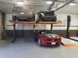 현대적인 인기 주차 시스템