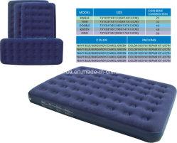 Aufblasbares Airbed /Flocked Luft-Bett