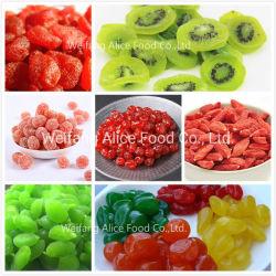 Commerce de gros Dry Cherry, Strabwerry, kiwi, le gingembre, le kumquat, de Prune Raisin Fruits